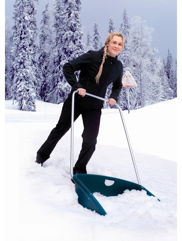 Masi Nova Max Ergonomic  Snow Pusher Shovel